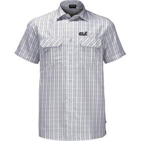 Jack Wolfskin Thompson Shirt Men white rush checks